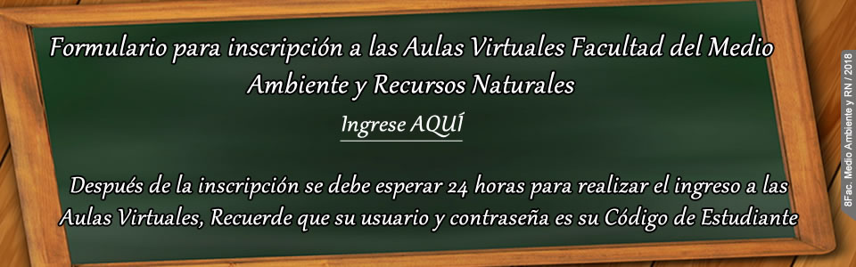 INSCRIPCIÓN AULA VIRTUAL
