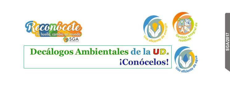 Decálogos ambientales de la Universidad Distrital