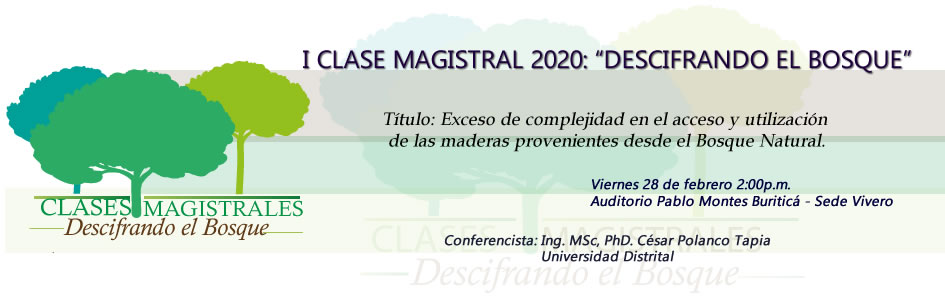 Clase Magistral 2020