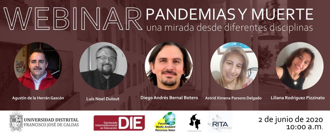 Pandemias y muerte: una mirada desde diferentes disciplinas - Clic para ver más