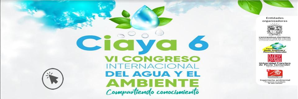 Ciaya 6, VI Congreso internacional - Clic para más Información